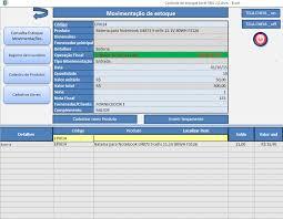 Planilhas De Controle De Estoque Planilha De Controle De Estoque Excel 2 0