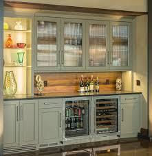 wet bar lighting. wine bar with wood backsplash olive cabinets clear view lit shelving wet lighting
