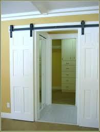 mirrored bifold doors fantastic glass closet