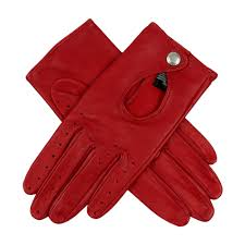 Driving Glove Size Chart Ladies Driving Gloves With Keyhole Back In Berry Red From Dents