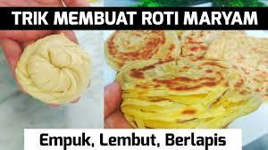 Kita mengenal resep roti maryam ini dengan berbagai. Tricks Make Bread Maryam To Play Layers How To Make Roti Maryam