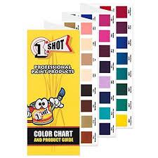 1 Shot Color Chart Set Set Of Color Charts For 1 Shot Brand