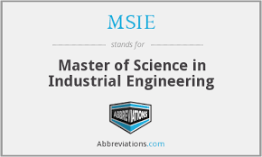 What Is The Abbreviation For Master Of Science In Industrial