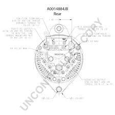 A0014884jb rear dim drawing