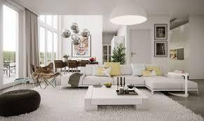 Living Room Modern Window Idea Grey Lounge Sofa Includ Pillows