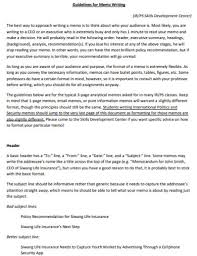 Free 20 Memo Writing Examples Samples In Pdf Doc