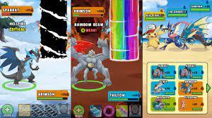 Chơi Game Pokemon Go Phiên Bản Trên Mobile 2021 download Dynamons world  super mod apk