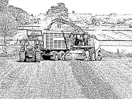 Kleurplaat Trekker Hakselaar Ausmalbilder Gratis Traktor 5