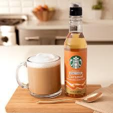 Cinnamon vanilla crème liquid coffee creamer. Flavored Caramel Syrup For Coffee Starbucks Coffee At Home