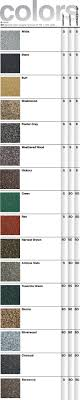 Shingle Color Chart Roof Shingles Color Chart Mb Technology