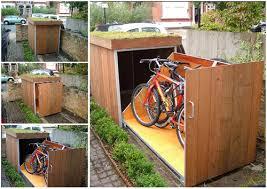 home organization bike rack and bike storage image
