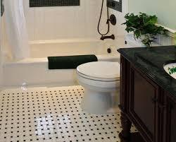 Tiles Awesome Black And White Bathroom Floor Tile Black And Regarding  Elegant Residence Black And White Bathroom Floor Tile Designs