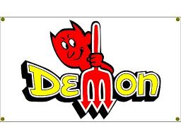 dodge duster logo. Beautiful Dodge Dodge Demon Duster Garage Banner Man Cave Hot Rod Rat NHRA Throughout Logo E