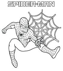 Spiderman coloring pages become a good idea to accompany your son to study. Coloring Pages Spiderman Ideas Whitesbelfast