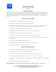 Accounting Resume Cover Letter Junior Accountant Resume Cover Letter Granitestateartsmarket 80