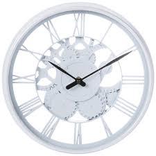 white roman numeral wall clock hobby