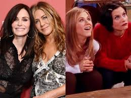 See courteney cox's transformation through the years. Jennifer Aniston And Courteney Cox Watched Friends Bloopers Together