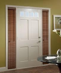 shades for front doorSidelight Blinds for Front Door Faux Wood