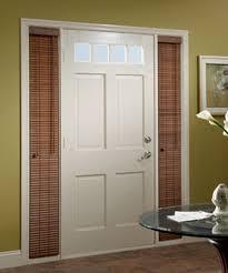 door blinds. Sidelight Faux Wood Blinds Door