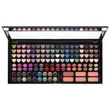 sephora 2016 facebook fan pick sephora collection beautiful crush blockbuster palette a must have makeup palette with 128 eye lip and cheek colors in