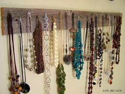 Hanging Necklace Organizer 23 Best Diy Jewelry Holder Ideas To Make Your Jewelry More Tidy