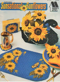 Sunflower Kitchen This Is A Plastic Canvas Pattern For Making Pretty Sunflower
