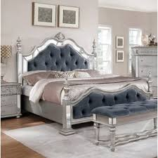 Silver Bedroom Sets You'll Love | Wayfair