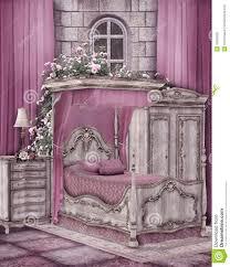 Pink Bedroom Pink Bedroom Stock Photo Image 19009200