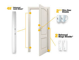 door jamb diagram. Door Jamb Armor Combo Set - 2-3/4\ Diagram