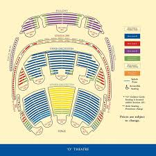 Bellagio Las Vegas Rooms Maps O Theater Seating Chart