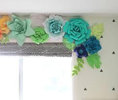 Paper Flower Decor How To Make Paper Flowers Thecraftpatchblog Com