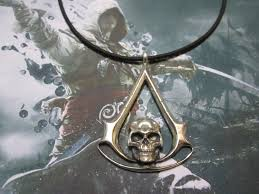 creed black flag silver