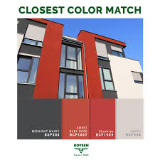 Red For Exterior Walls A Color That Is Making Its Mark On