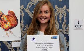 Exam Piece Wins Best of Bolton Art Prize - Attain