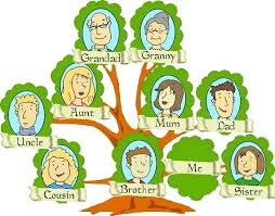 Family Tree Example Template Photo Family Tree Format Template Download Examples School