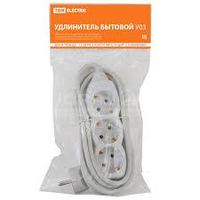 <b>Удлинитель электрический TDM Electric</b> SQ1303-0000, 3 розетки ...