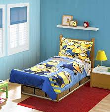 Amazon.com : Minions Mishap 4 pc Toddler Bedding Set : Baby
