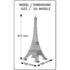 eiffel tower size eiffel tower heller 81201