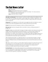 how to write a professional letter bad news letter ohye mcpgroup co