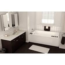 maax 60 x 30 x 20 pose 6030 acrylic soaking bathtub