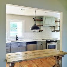 shiplap wall kitchen. how to shiplap wall and open pipe shelves 60 kitchen