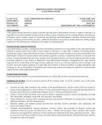 Objective For Legal Assistant Resume Legal Secretary Resume Objective 80