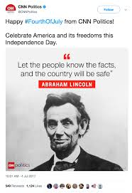 Quotes By Abraham Lincoln Enchanting CNN Just Published A Fake Quote From Abraham Lincoln