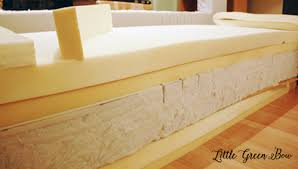 the foam used for the seats one foam hospital mattress cut to size and 2
