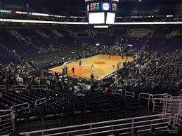 Talking Stick Resort Arena Suns Seating Chart Talking Stick Resort Arena Section 106 Phoenix Suns