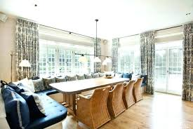 floor seating dining table. Comfy Floor Seating Dining Room Informal Design With Rectangular Brown Table