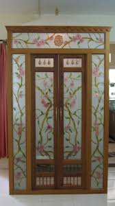 glass door designs for living room. Delighful Room Get These Pooja Room Designs In Glass For Living Or Hall Pooja  Are Transparent Thus Allow You To View Your Deities From Outside In Glass Door Designs For Living Room 1