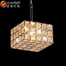 chandeliers led pendant light square modern crystal chandeliers lighting om55001
