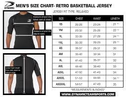 Volleyball Size Chart Size Charts
