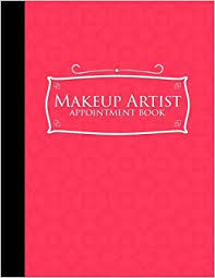 makeup artist appointment book 4 columns appointment organizer client appointment book scheduling appointment calendar pink cover volume 16 moito